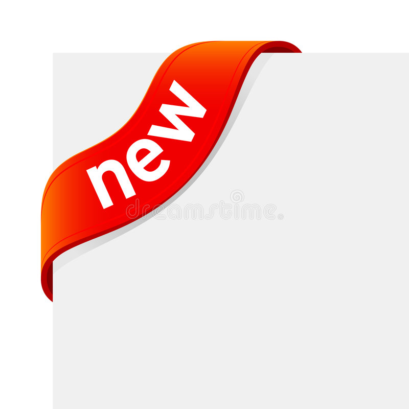 «New» sign royalty free illustration