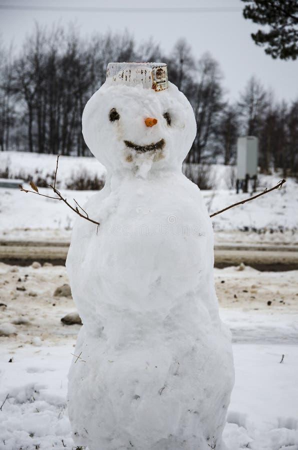 ² ик/boneco de neve do ¾ Ð do ³ Ð do ½ Ð?Ð do ¡ Ð de Ð imagem de stock