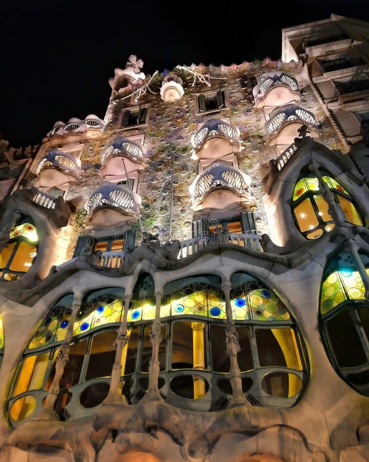 ³ Barcelona de Batllà da casa foto de stock royalty free