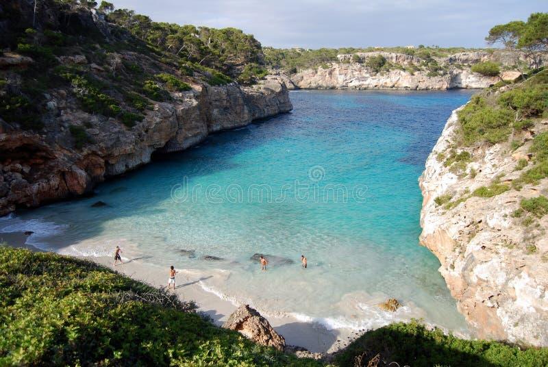 ³ de' di es CalÃ; s Moro ( Mallorca, Spain) fotografie stock libere da diritti