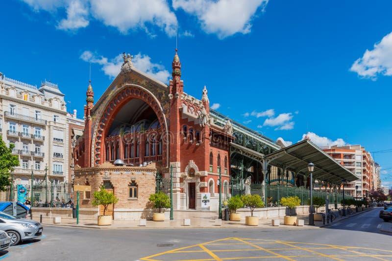 ³ de Mercado de Colà n Columbus Market en Valencia Spain photographie stock