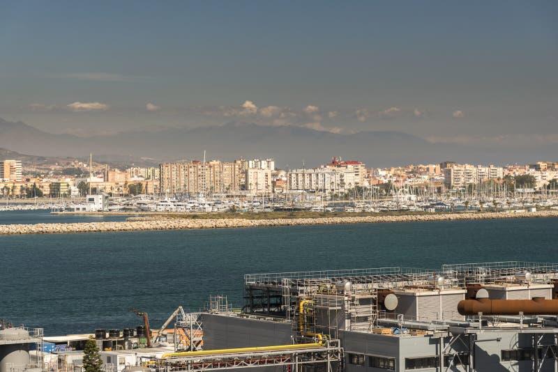 ³ n Ла LÃnea de Ла Concepcià от ферзя Элизабета в Гибралтаре стоковое изображение rf