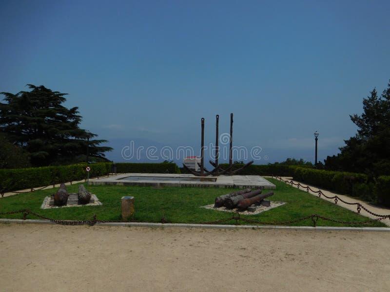 ³ ns de Rande för Monumento aos-galeà arkivfoto