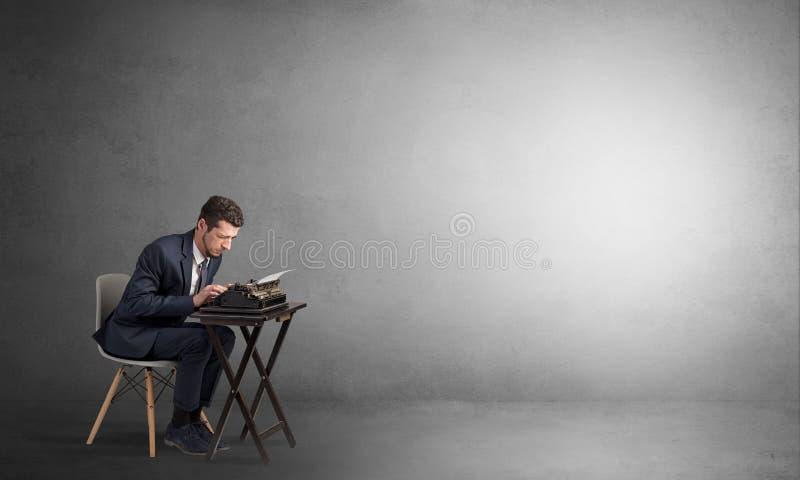 努力工作的人和阴影争论与他.