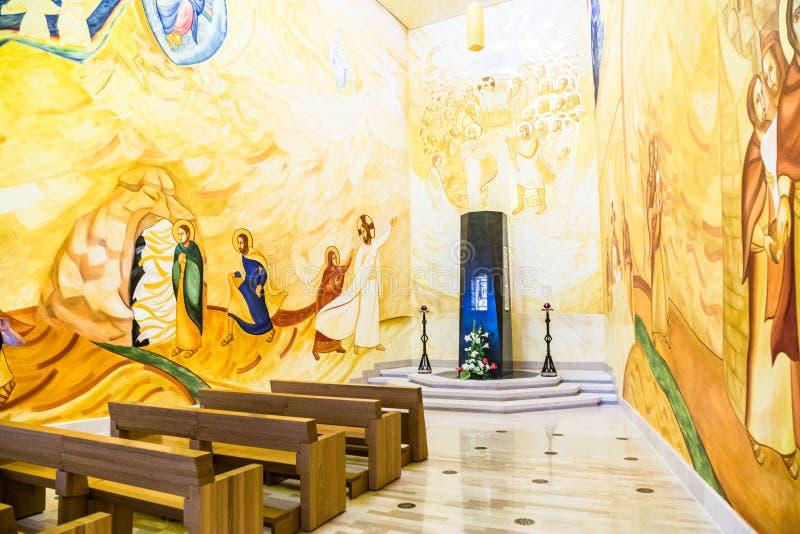 1º de junho de 2017 Santuário de San Giovanni Rotondo, Apulia, Itália imagens de stock royalty free