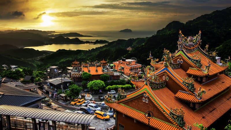¼ Œ Тайвань Jiu Fenï стоковая фотография