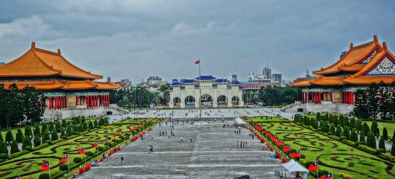 ¼ ŒChiang Kai-shek Memorial Hall de Taiwanï imagem de stock