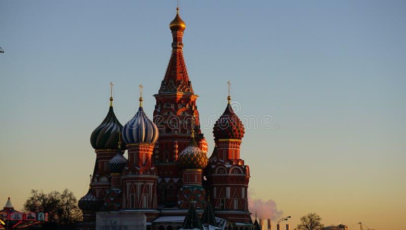 ¼ ŒChristian del Cathedralï del churchï del ¼ del basilico russo di ŒSaint fotografia stock libera da diritti