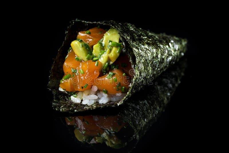 ¼ del ¾ Ð del  Ð di ÑƒÑ del ½ del ¾ Ð di уши кРdel  del cono Ñ dei sushi immagine stock