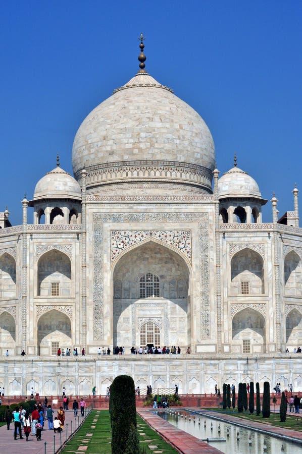 ¼ la India de Taj Mahalï foto de archivo libre de regalías