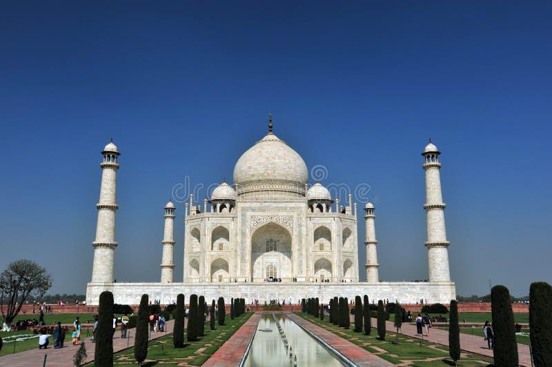 ¼ la India de Taj Mahalï imagen de archivo