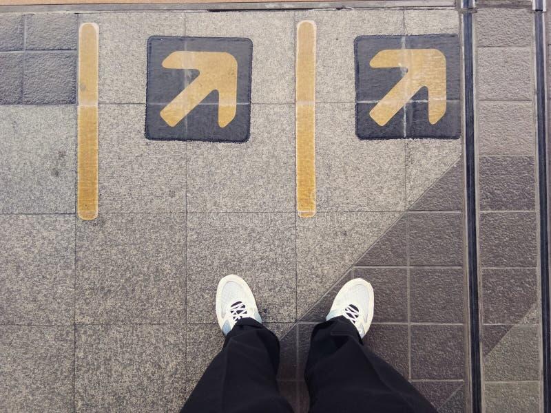¿Adónde usted va? fotos de archivo