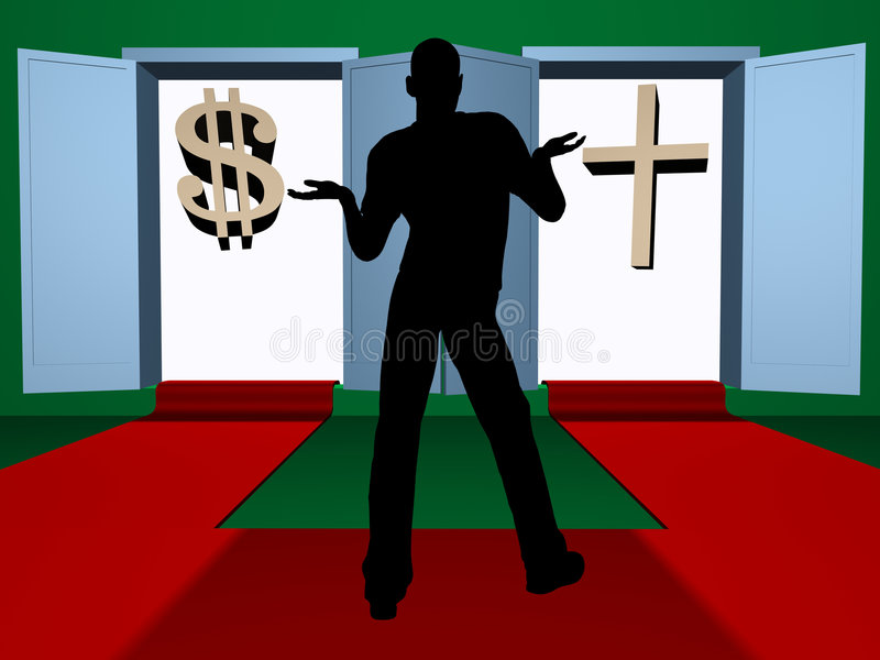 ¿Creencia o dinero? libre illustration