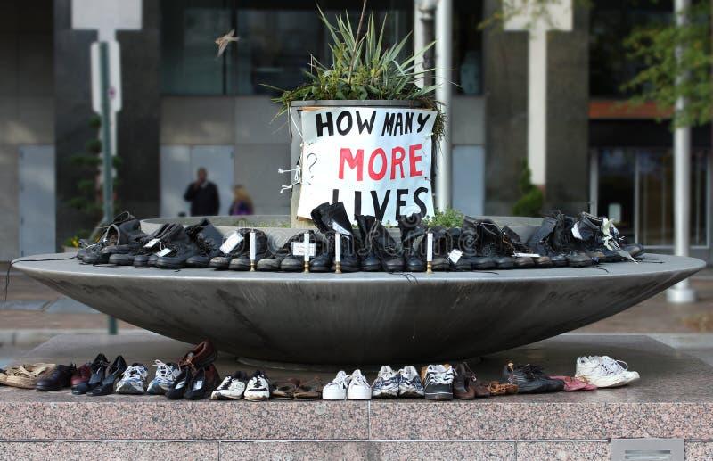 ¿Cuántos más vidas? fotos de archivo