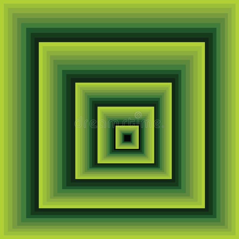 ¿El caer abajo? o un pasillo infinito stock de ilustración