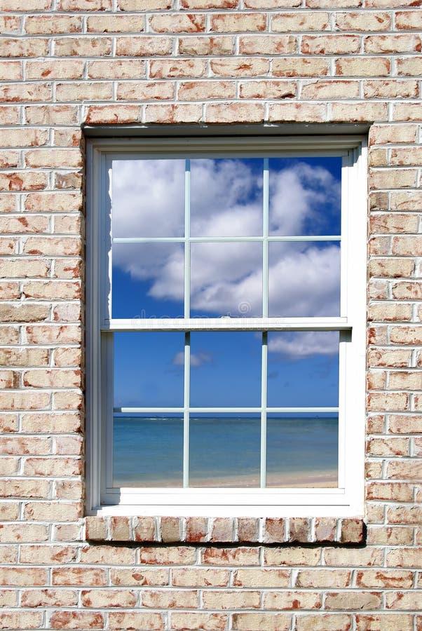 ¿En o hacia fuera? fotografía de archivo