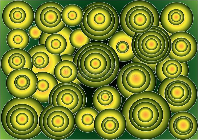 ¿Extranjeros? círculos coloridos frescos extraños libre illustration