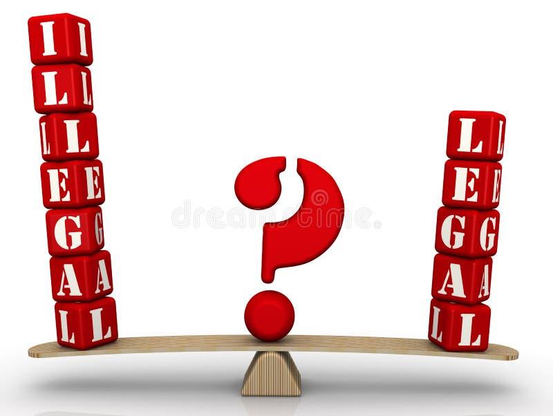 ¿Ilegal o legal? El problema de la opción stock de ilustración