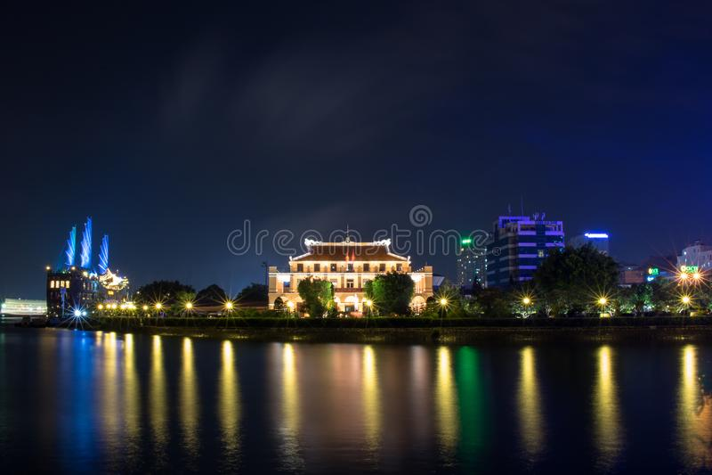 """¿N Nhà Rá"""" """"ciudad del ng Ho Chi Minh, Viet Nam de BẠfotos de archivo"""