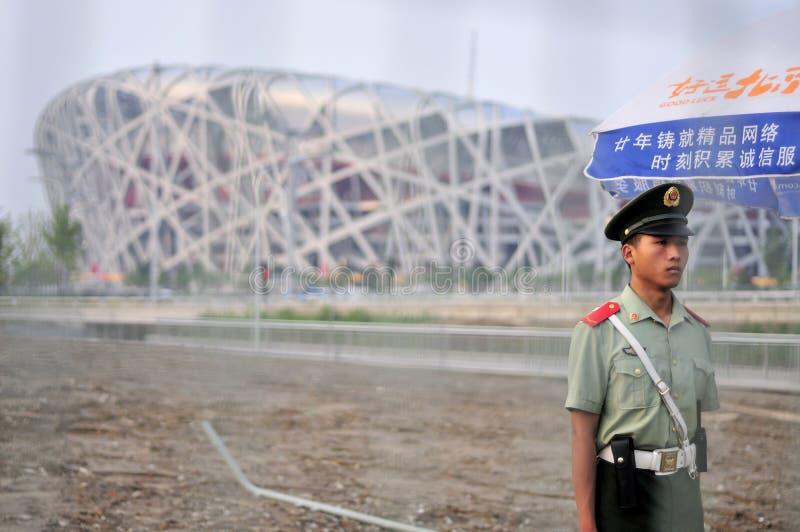 ¿Olimpiadas pacíficas? fotos de archivo