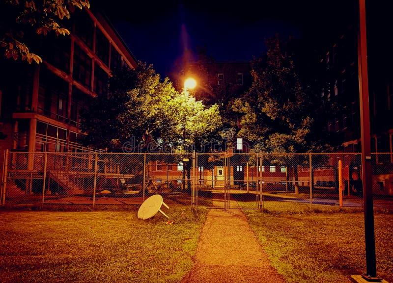 ¿Parque o prisión? imagen de archivo libre de regalías