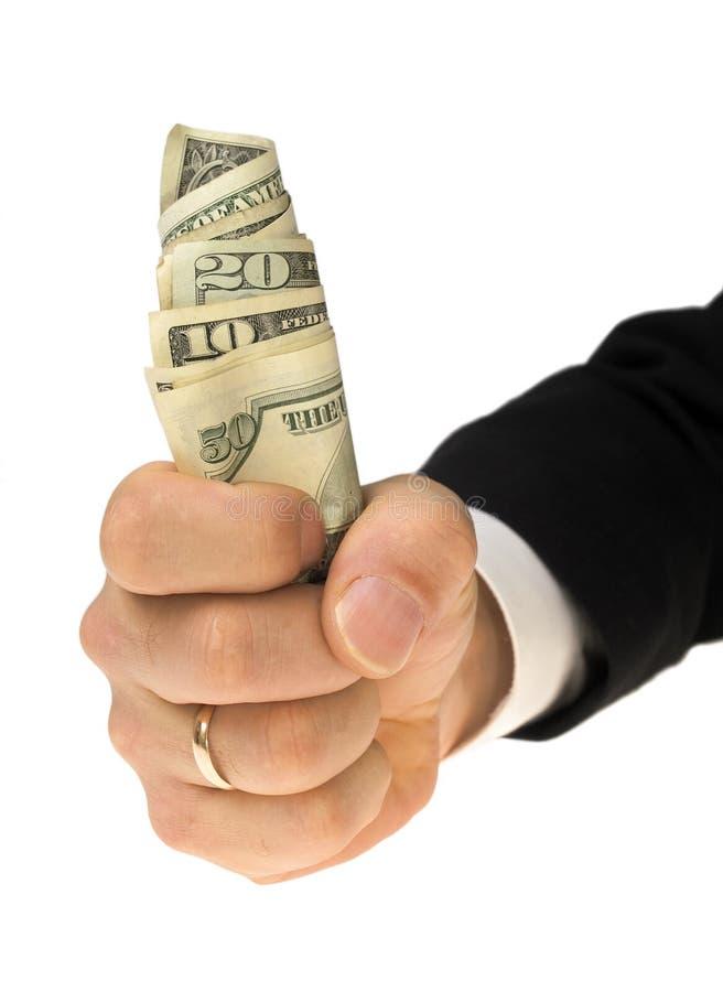 ¿Presente ganado o soborno? imagen de archivo libre de regalías