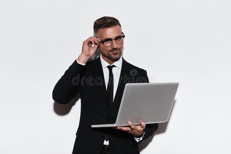 ¿Puedo ayudarle? imagenes de archivo