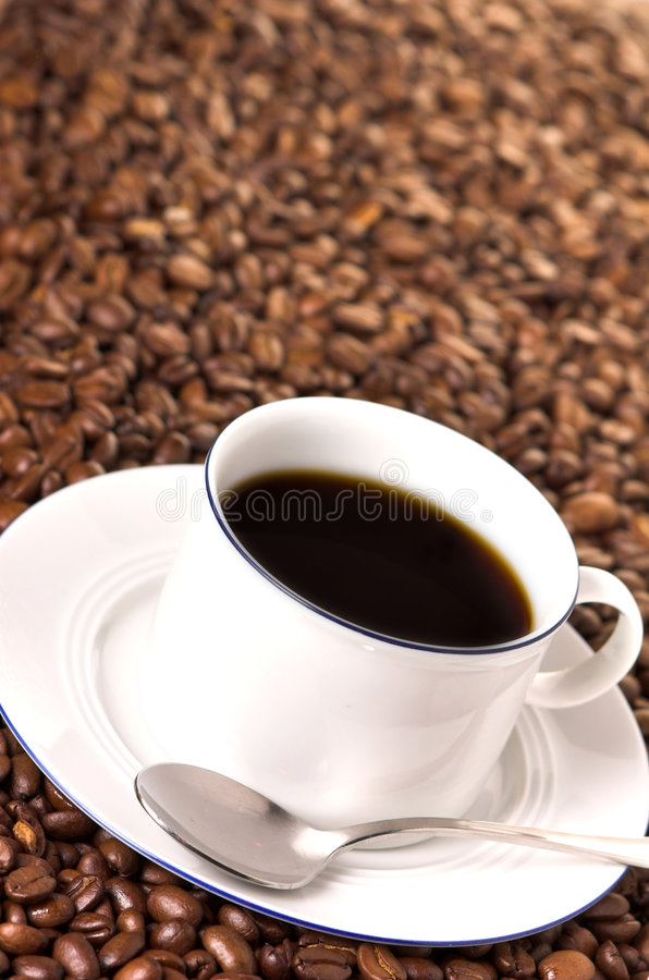 ¿Quiera un café? imagen de archivo libre de regalías