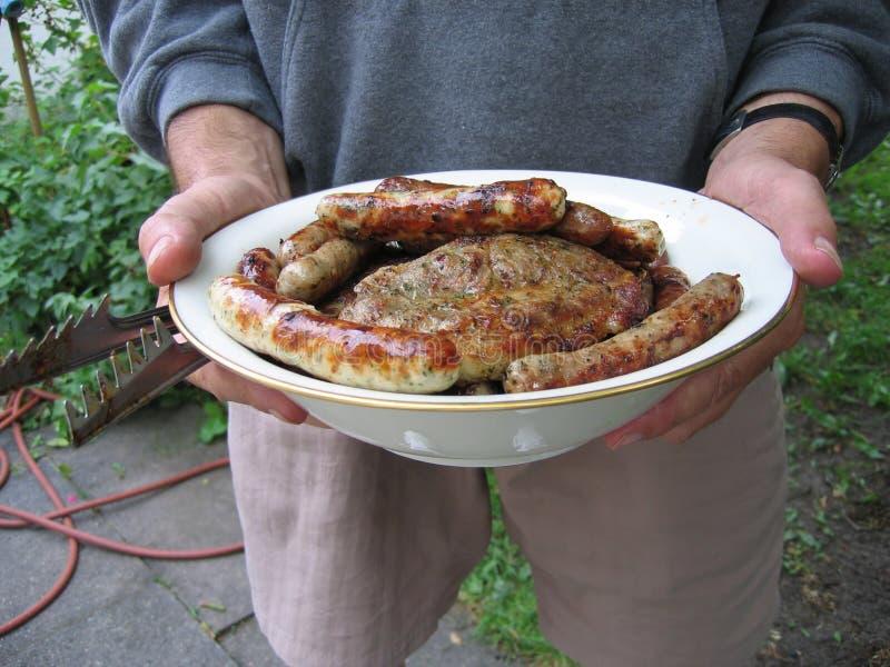 ¿Quiera un poco de carne? fotografía de archivo libre de regalías
