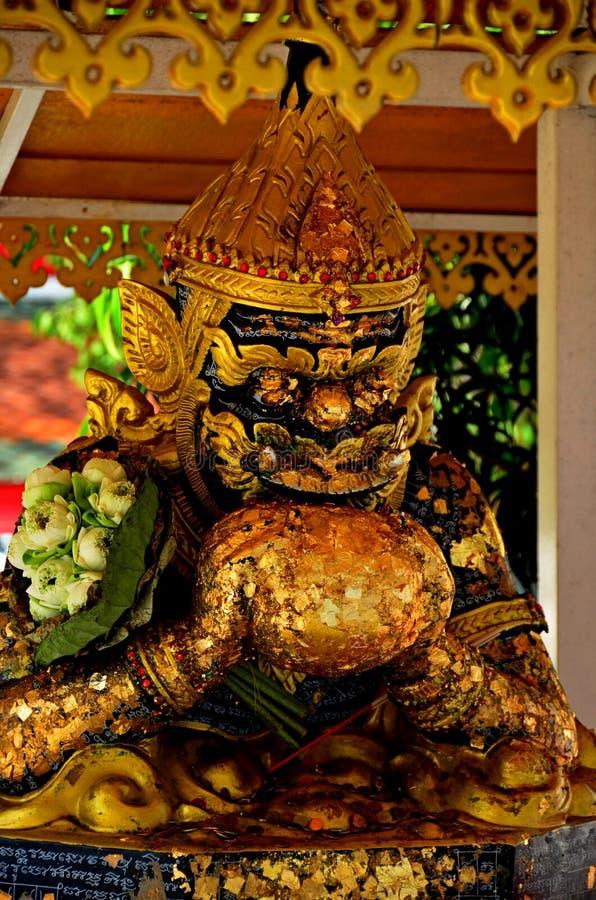 ัPhra Rahu at Pa Le Lai Temple, Suphan Buri Province, Thailand. Phra rahu lai Phra Rahu at Pa Le Lai Temple, Suphan Buri Province, Thailand is respected and royalty free stock photos