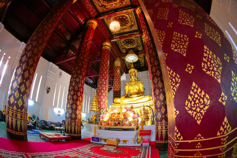 Ancient Buddhist Temple. Big Buddha in Wat Na Phra Men, Ayutthaya historical park, Thailand. UNESCO World Heritage Site. Wat Na Phra Men is one of the very few royalty free stock photos
