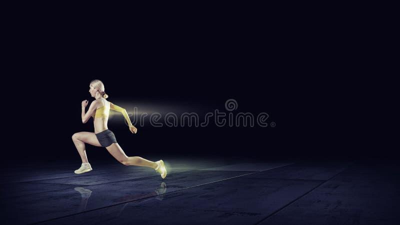 Download À à toute vitesse image stock. Image du sportif, action - 56480865