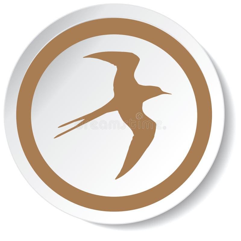 à¸'bird εικονίδιο στοκ εικόνες