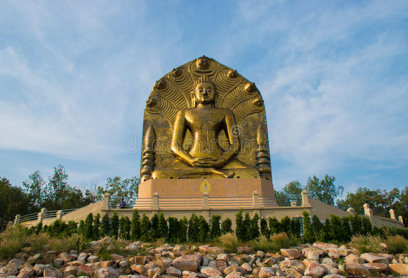 à¸'buddha på khow-e-till royaltyfri foto