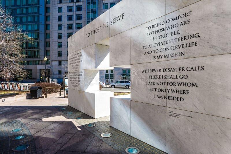 À ceux nous servons le mémorial dans le Maryland photos libres de droits