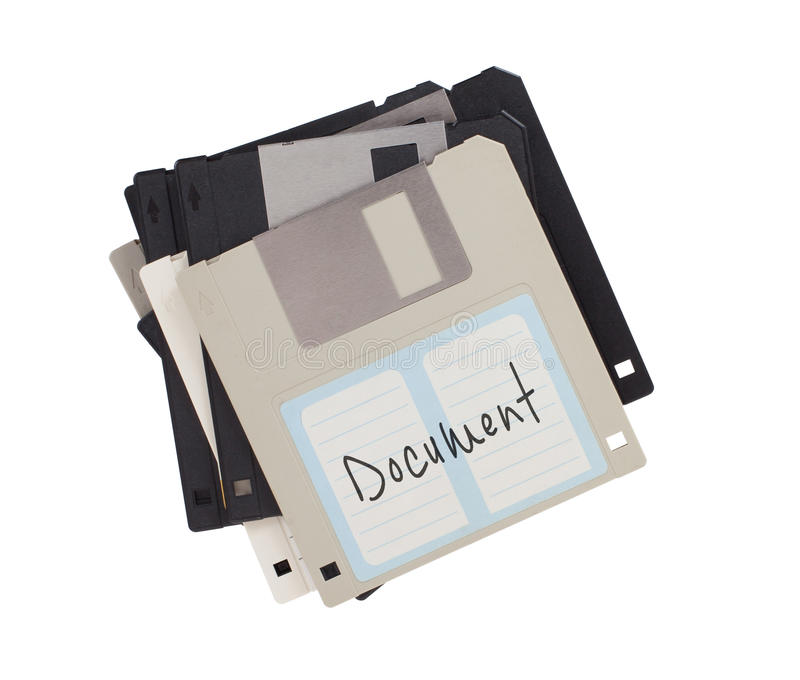 À disque souple, appui de stockage de données photographie stock