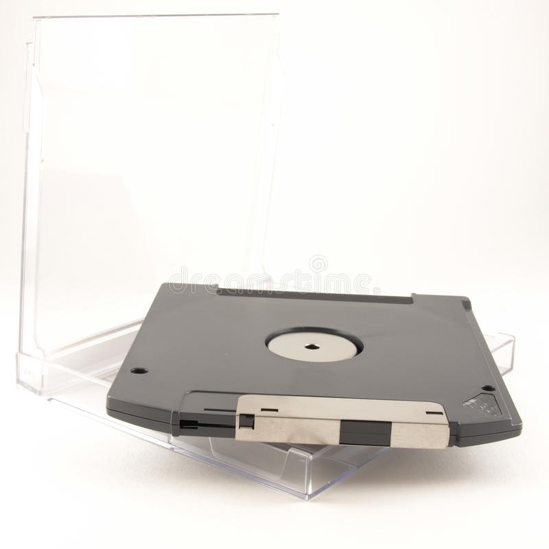 À disque souple pour Fermer la fermeture éclair-pilotez photographie stock