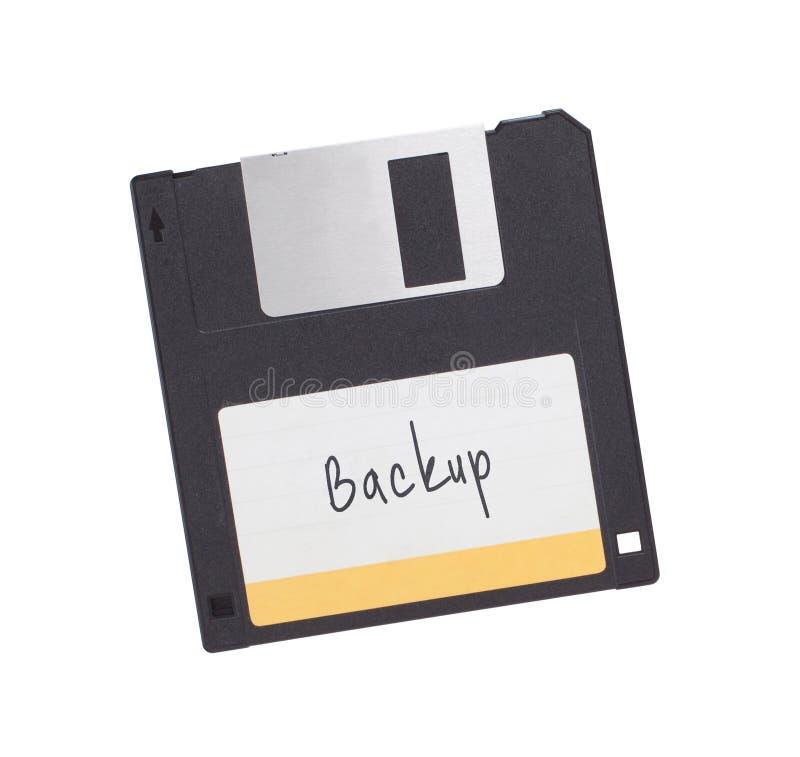À disque souple - technologie du passé, d'isolement sur le blanc images libres de droits
