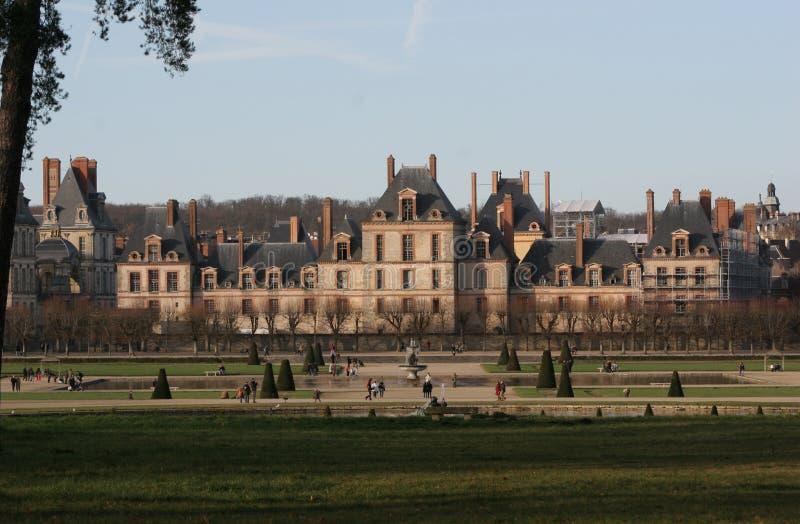 À Fontainebleau images libres de droits