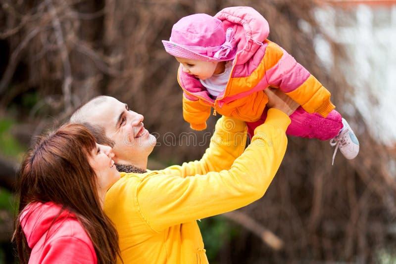 À l'extérieur famille images libres de droits