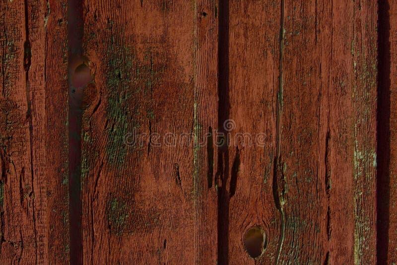 À l'extérieur usé bois de grange photo libre de droits