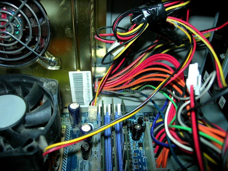 À l'intérieur d'un ordinateur 2 images libres de droits