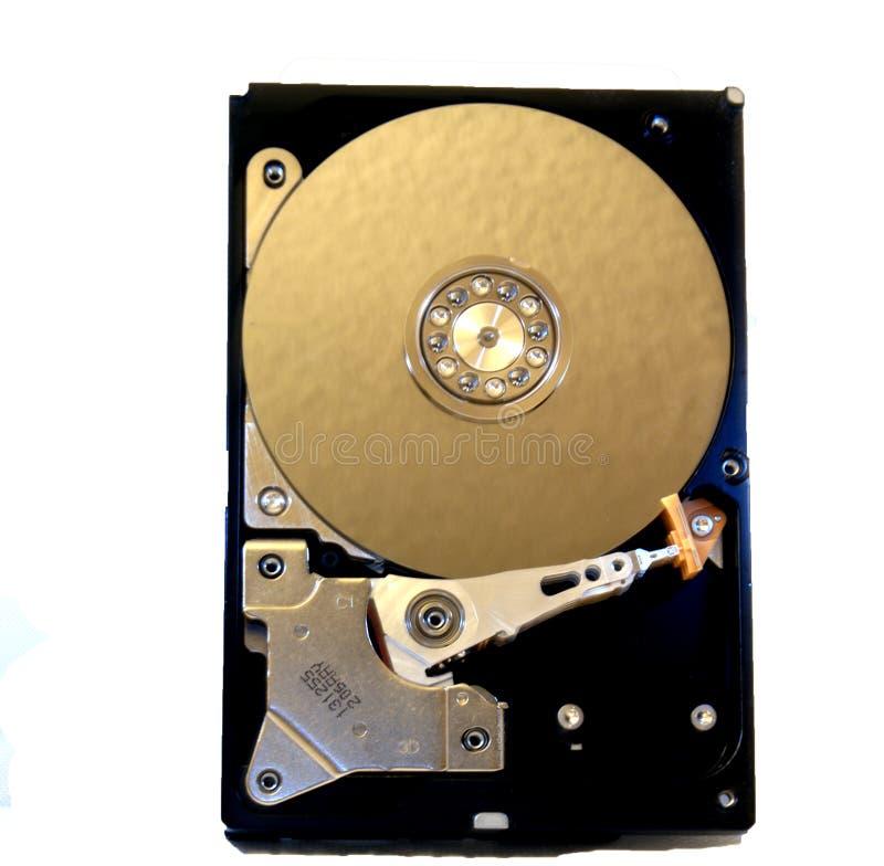 À l'intérieur de d'une unité de disque dur photo stock
