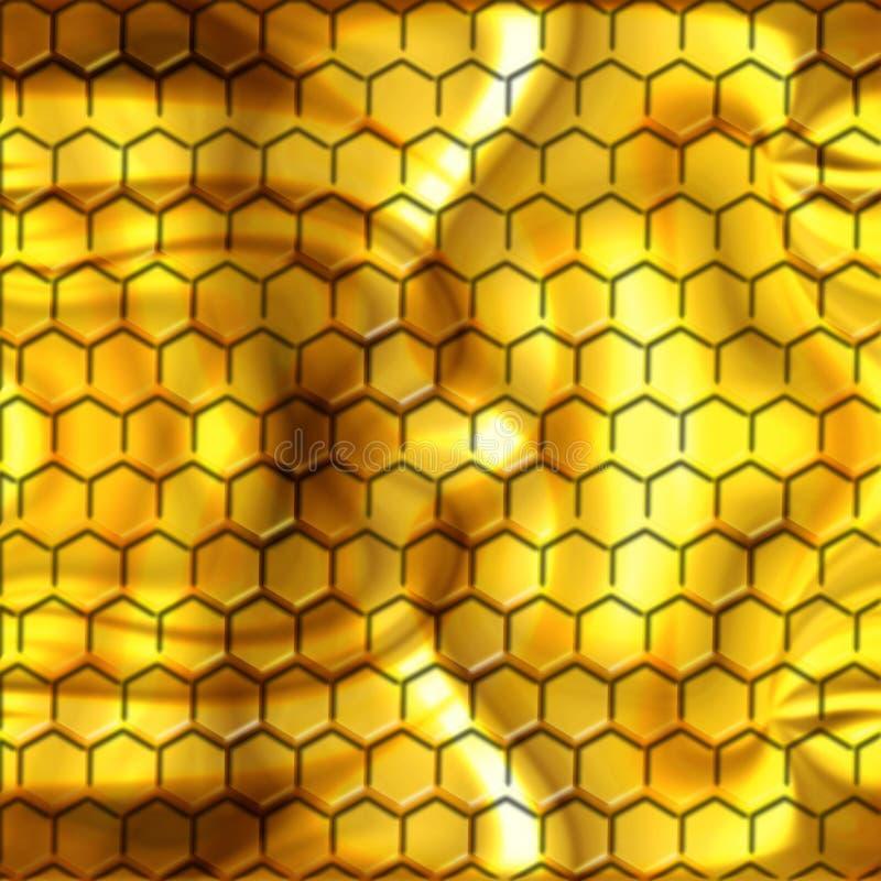 À l'intérieur de la ruche illustration stock