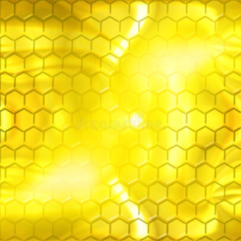 À l'intérieur de la ruche illustration de vecteur