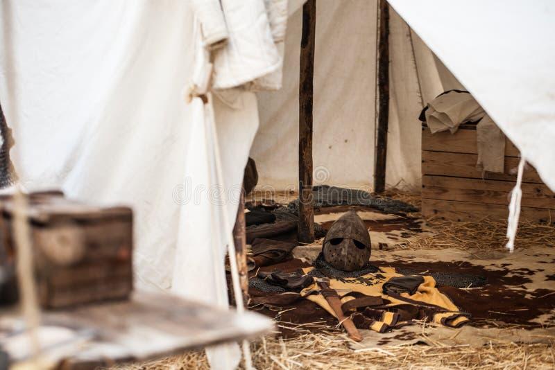 À l'intérieur de la tente photos libres de droits
