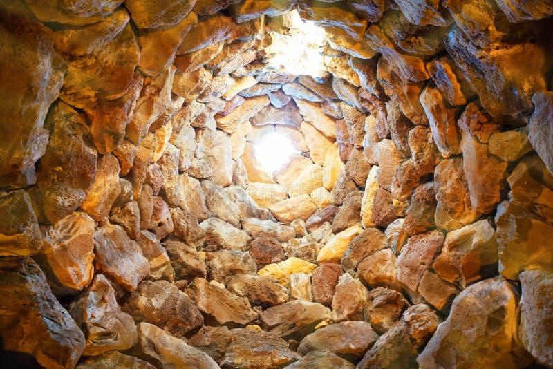 À l'intérieur de la tour antique images stock