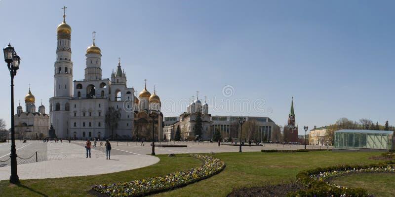 À l'intérieur de Moscou Kremlin, Moscou, ville fédérale russe, Fédération de Russie, Russie photo libre de droits