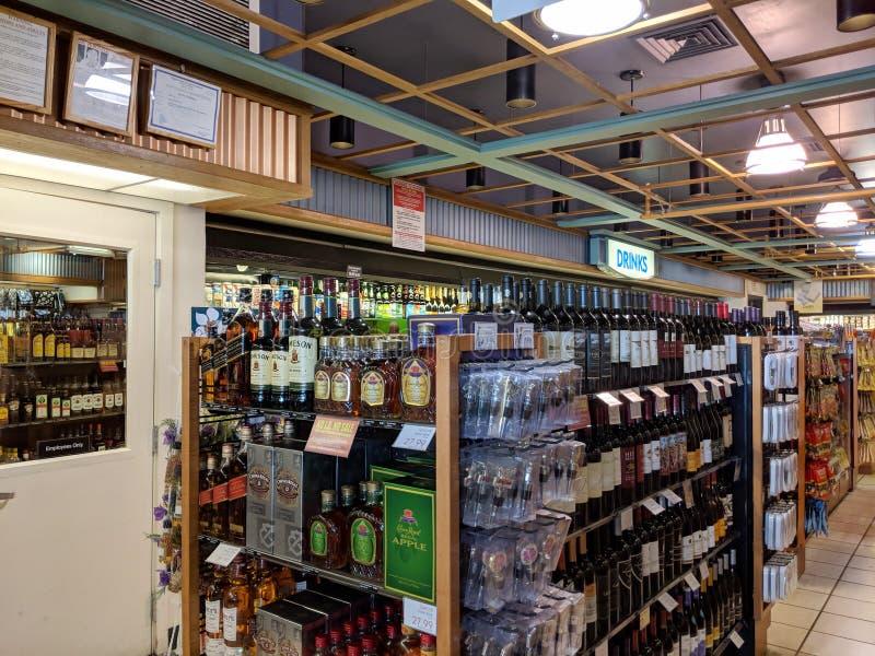 À l'intérieur du magasin d'ABC photographie stock