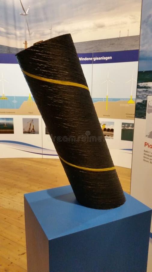 À l'intérieur du musée de bateau images stock